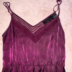 Purple H&M Maxi Dress